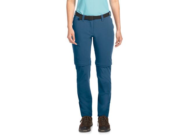 Maier Sports Inara Slim Zip-Off Pants Damen ensign blue